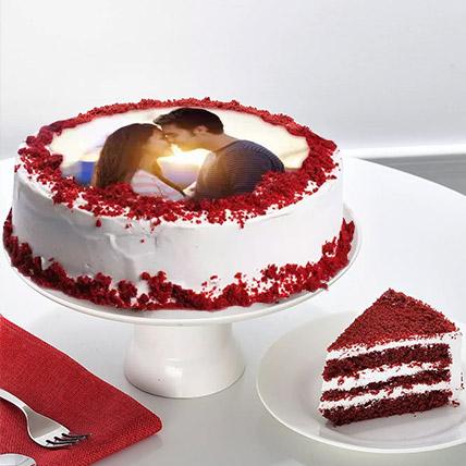Velvety Photo Cake