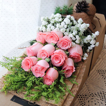 Deepest Love With Pink Roses