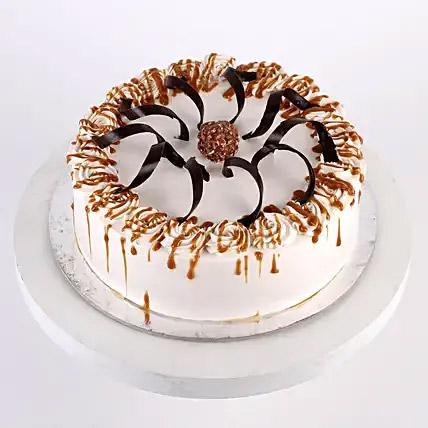 Heavenly Caramel Cream Cake