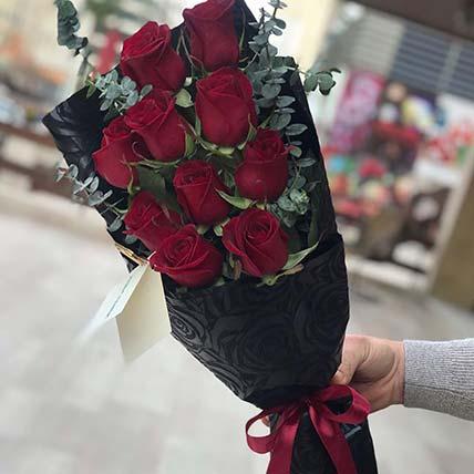 Love & Rubies Flower Posy