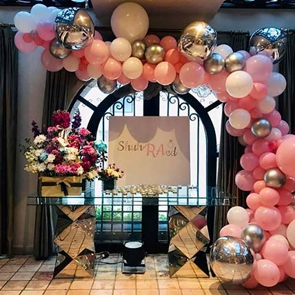 Special Celebration Balloon Arch