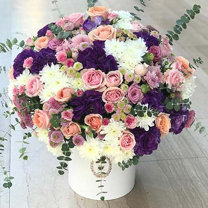 Vibrant Beauty Flower Bouquet