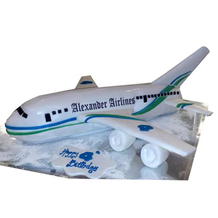 Alexander Airlines Cake