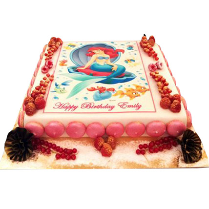Ariel the Princess Cake