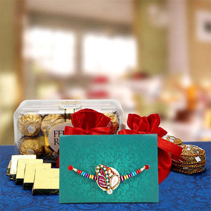 Assorted chocolates and rochers