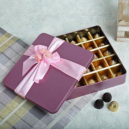 Assorted Square Shape Chocolates