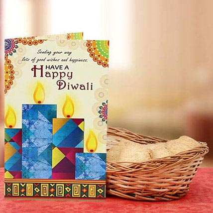 Basket Full of Diwali Wishes