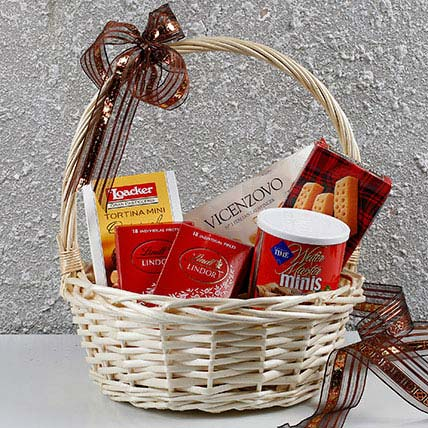 Basket Of Chocolates N More