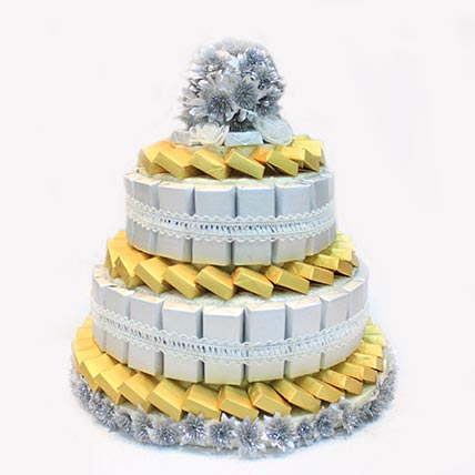 Belgian Milk Chocolates Cake Tower