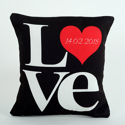 Black Love Cushion