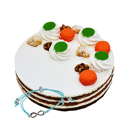 Carrot Cake with Friendship Band