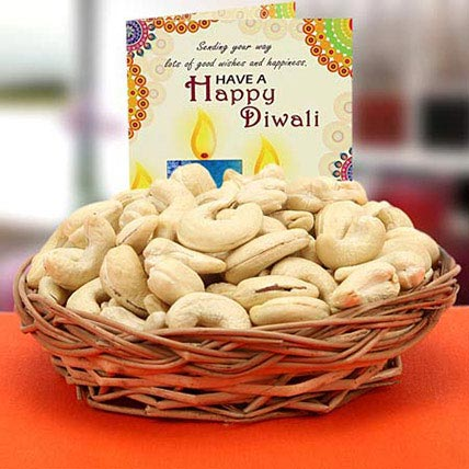 Cashew Delight with Diwali Greetings