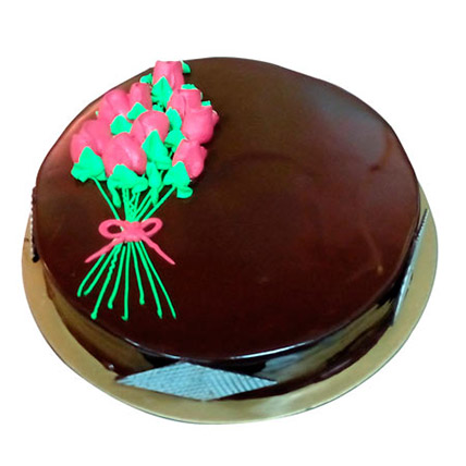 Chocolate Truffle Cake for Mom 8 Portion