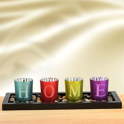 Colorful Home Decor Glasses