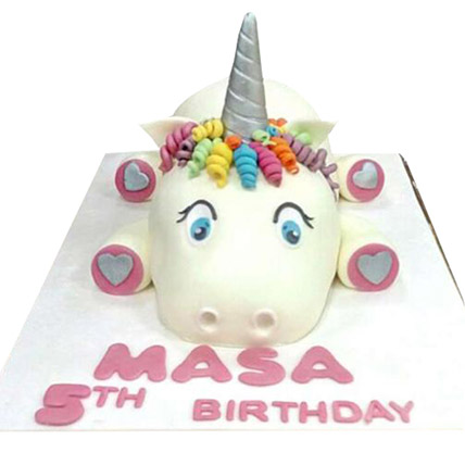 Cow Cartoon Cake