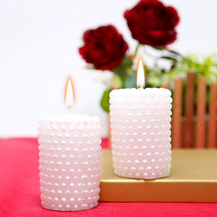 Designer Valentine Candles