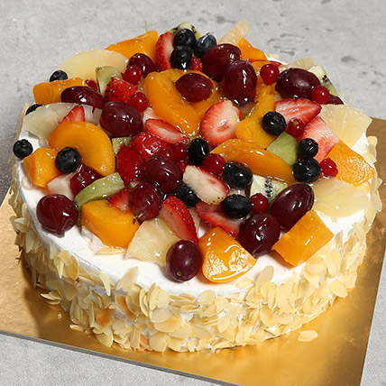 Eggless Fresh Fruit Fantasy 1 Kg