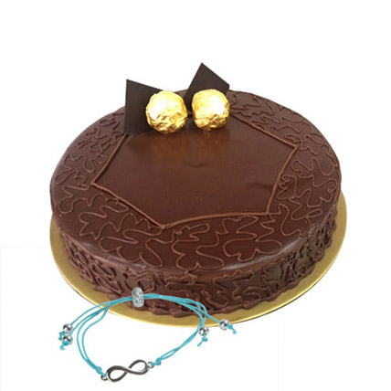 Ferrero Rocher Cake with Friendship Band