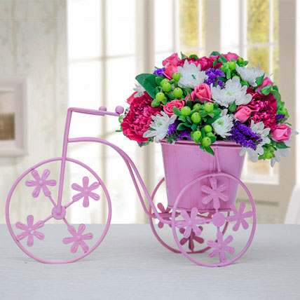 Floral Pink Cycle