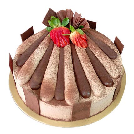 Fresh cream Chocolate Cake 2 Kg