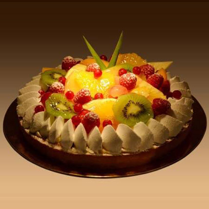 Fruit Tart 4 Portion