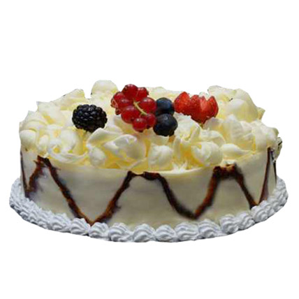 German Classic White Forest Cake 2 Kg