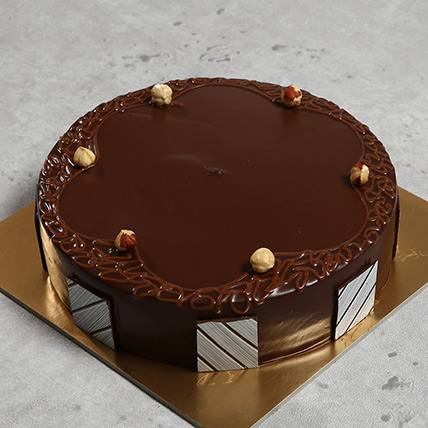 Hazelnut Chocolate Eggless Cake Half Kg