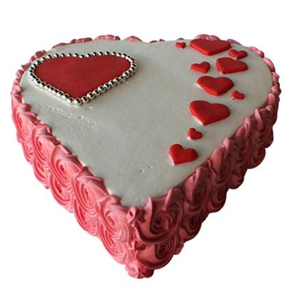 Heartshape Love Cake