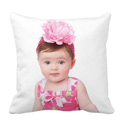 Personalized Pretty Photo Cushion