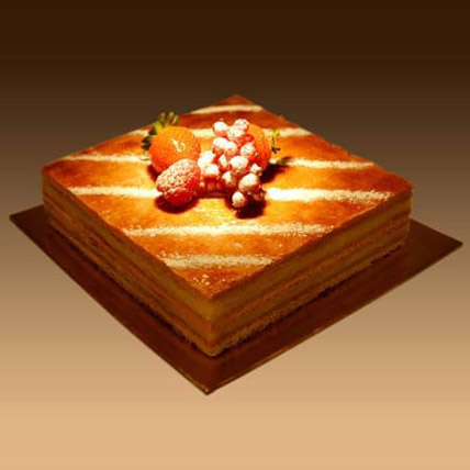 Plain Mille Feuille 4 Portion