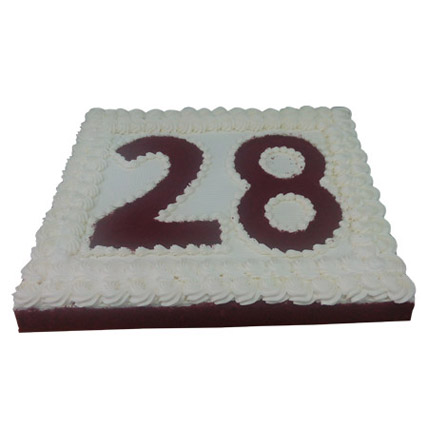 R for Red Velvet Cake 4 Kg