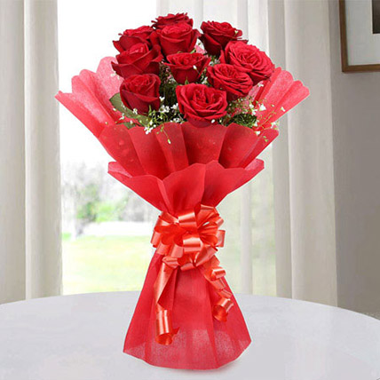 Red Roses Bouquet of Love Deluxe