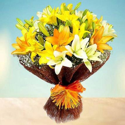 Sunny Asiatic Lilies Deluxe