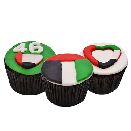 UAE Day Cup Cakes 6 Pcs