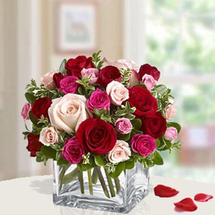 Rose day flowers