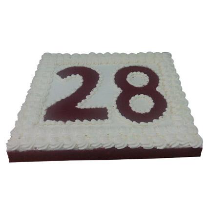 R for Red Velvet Cake 2 Kg