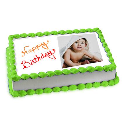 Welcoming Photo Cake Eggless 2 Kg Pineapple Cake