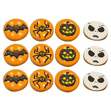 Halloween Assorted Cookies Set