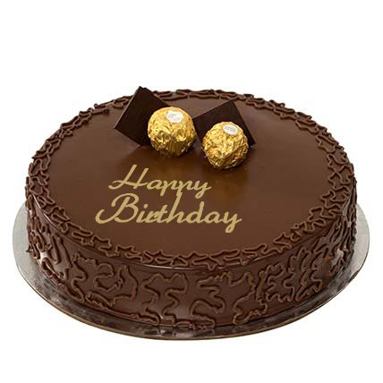 1Kg Ferrero Rocher Birthday Cake