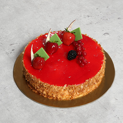 Flavoursome Strawberry Cheesecake 4 Portion