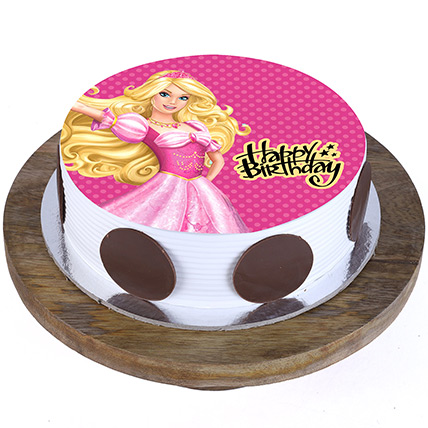 Princess Aurora Blackforest Cake 1 Kg