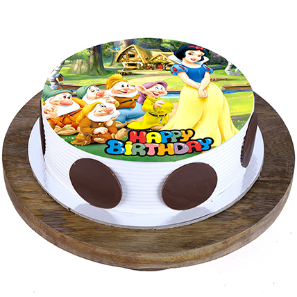Snow White Blackforest Cake 1 Kg Eggless