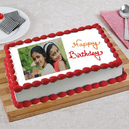 Celebration Photo Cake 3 Kg Truffle Cake