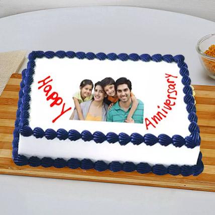 Happy Anniversary Cake 3 Kg Vanilla Cake