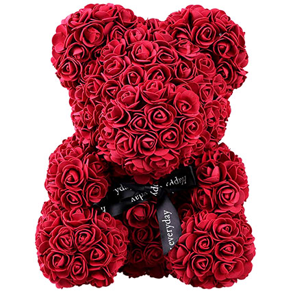 Rose Teddy Bears for Valentines Day