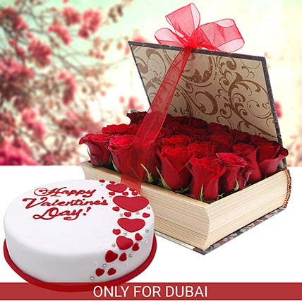 Romance with Cake N Flowers