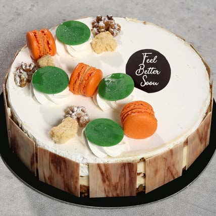 Get Well Soon 8 Portion Carrot Cake