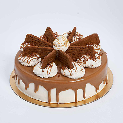 Heavenly Lotus Biscoff Eggless Cake- 1 Kg