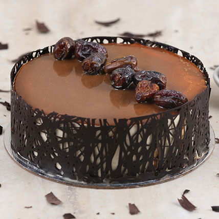 Delectable Dates Eggless Cake - 1 Kg