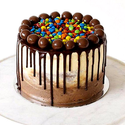 Chocolate Buttercream And M&M Cake 8 Portion